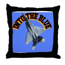 CP-MOUSE F15 INTO THE BLUE Throw Pillow
