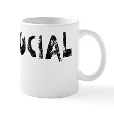 Antisocial on W Mug