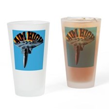 CP-JOURNAL F15 AIM HIGH Drinking Glass