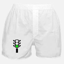 Green Light Stoplight Boxer Shorts