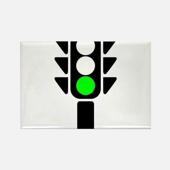 Green Light Stoplight Magnets