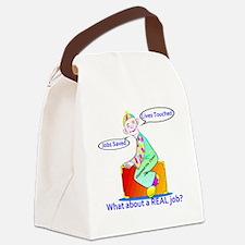 oblahblah-clown Canvas Lunch Bag