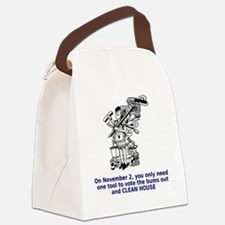 clean-house Canvas Lunch Bag