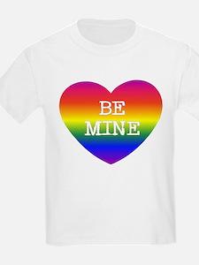 BE MINE Kids T-Shirt