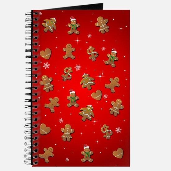 Gingerbread Cookies Journal