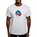 Pengy Love Ash Grey T-Shirt