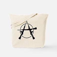 Anarchy Guns-large2 Tote Bag