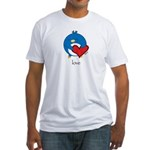 Pengy Love Fitted T-Shirt