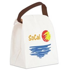 socal Canvas Lunch Bag