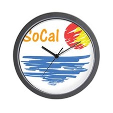 socal Wall Clock
