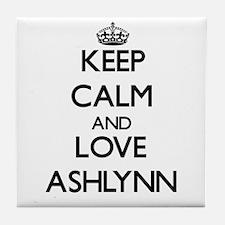 Keep Calm and Love Ashlynn Tile Coaster