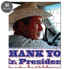 Bush-Thank-You-American Puzzle