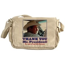 Bush-Thank-You-American Messenger Bag