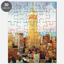 NYC Picture Empire State Building Puzzle