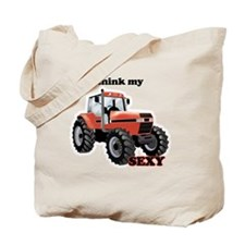 Sexy Tractor Tote Bag