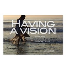HavingAVisionT Postcards (Package of 8)