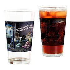 NOMONSTERS Drinking Glass