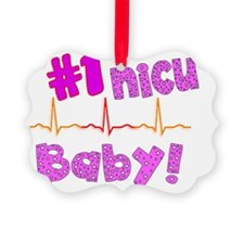 NICU Baby Ornament