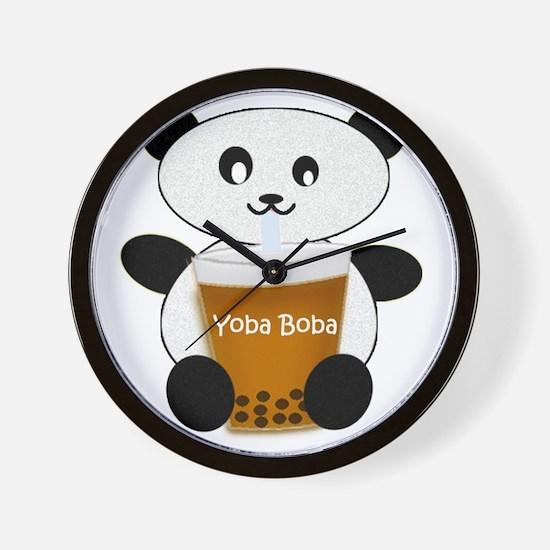 Yoba Boba Wall Clock