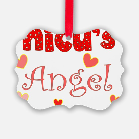 NICU Angel Ornament