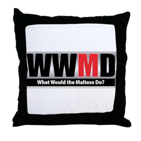 WWMD Throw Pillow