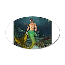 Best Seller Merrow Mermaid Wall Decal