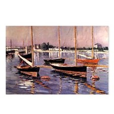 Caillebotte: Boats on the Postcards (Package of 8)