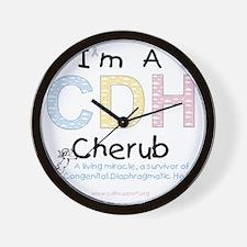 CDHcherub Wall Clock