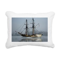 Tallboat on the Columbia Rectangular Canvas Pillow