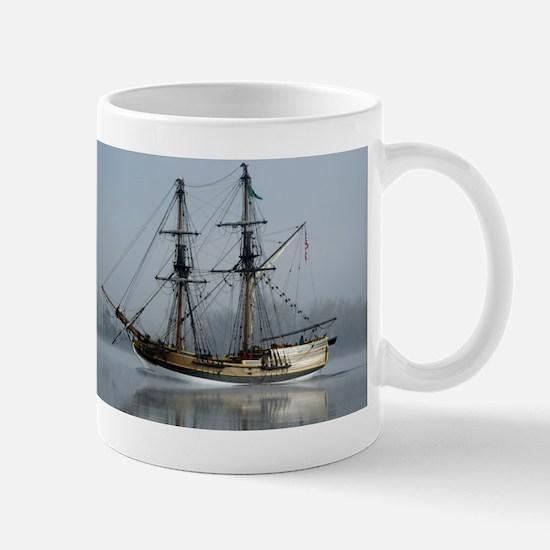 Tallboat on the Columbia Mug
