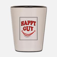 HAPPY GUY Shot Glass