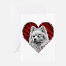 Pomeranian Valentine Greeting Cards (Pk of 10)