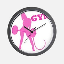 gym-rat2 Wall Clock