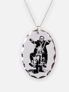 M_dead biker Necklace
