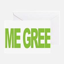 NH-Lymphoma-Think-LG-blk Greeting Card