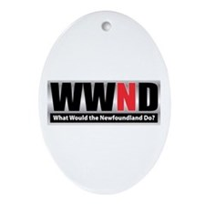 WWND Oval Ornament