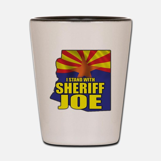 sheriff_joe_shirt_cp3 Shot Glass