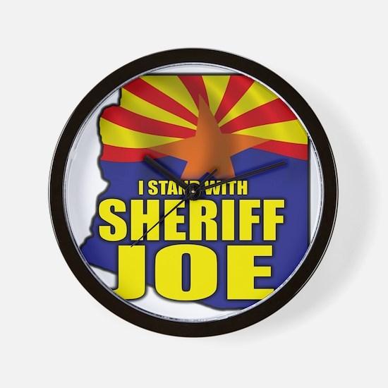 sheriff_joe_shirt_cp3 Wall Clock