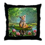 Tiger Cotton Pillows