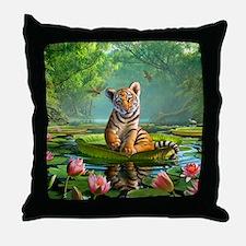 JL_Tiger Lily Throw Pillow