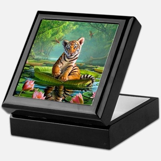 JL_Tiger Lily Keepsake Box