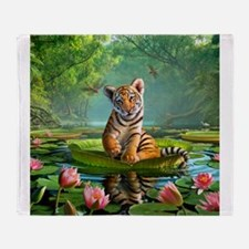 JL_Tiger Lily Throw Blanket