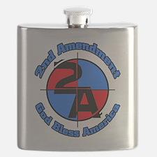 The 2nd Amendment Flask