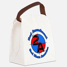 The 2nd Amendment Canvas Lunch Bag