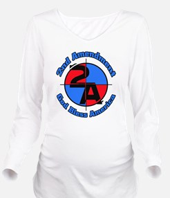 The 2nd Amendment Long Sleeve Maternity T-Shirt