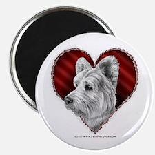 Westie Valentine Magnet