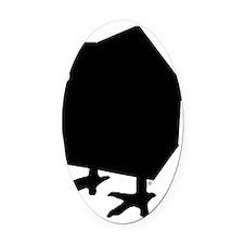 BABAG Oval Car Magnet