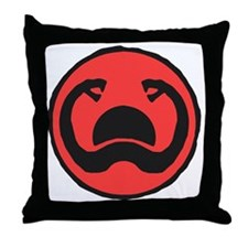 2-Thulsa_Doom_Symbol_by_Hartter Throw Pillow