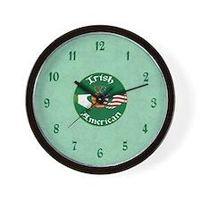 Irish American Claddagh Wall Clock