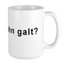Who Is John Galt? Mugs